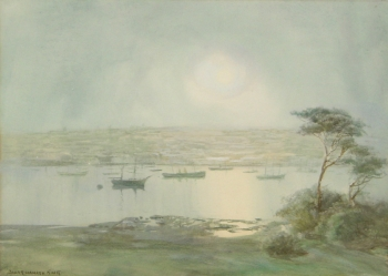 Moonlight, Falmouth Harbour, Baragweneth King