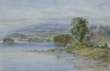 Glengarry Castle, Loch Oich, Ralph Morley