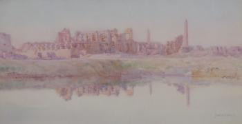 Karnak, Near Luxor, Francis E. Nesbitt