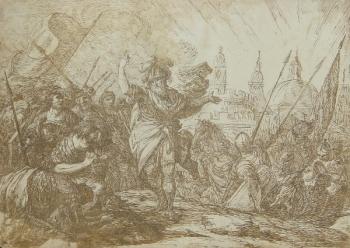 Classical Scene - A Victorious Army, Giuseppe Piattoli