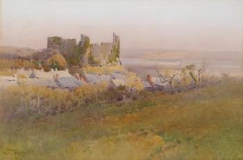 Laugharne Castle, Wales, Arthur Tucker