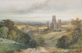 A View of Durham, George Arthur Fripp