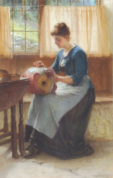 The Lace Maker, William Weatherhead