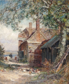 Farm near the Coast, Frederick William Newton Whitehead