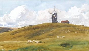 Winchelsea Windmill, Robert Thorne Waite