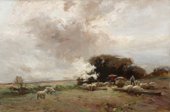 Winter Feed, William Bradley Lamond