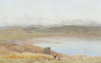 Harvesting by an Estuary, Thomas  Danby