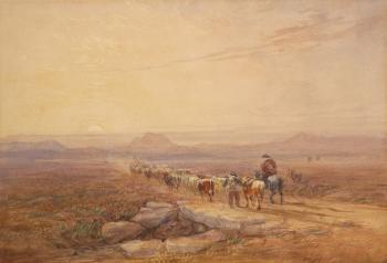 On a Highland Moor, David Cox senior