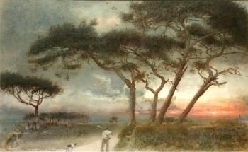Man Goeth Forth to His Labour Until the Evening, Albert Goodwin