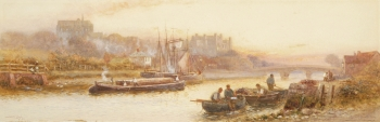 Arundel from the River, Walter Stuart Lloyd