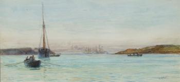 Plymouth Sound, William Lionel Wyllie