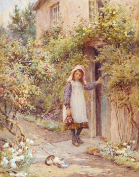 The Cottage Door, Joseph Harold Swanwick