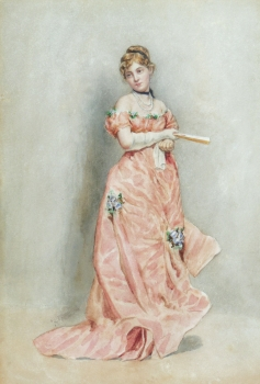 Ready for the Ball, Charles Sillem Lidderdale