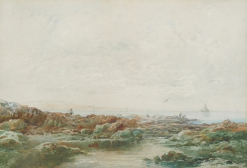 Rockpools at Low Tide, Albert Pollitt