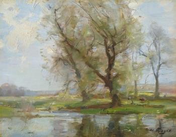 The Tyne, East Linton, William Miller Frazer