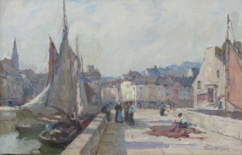 A Sunny Morning, Honfleur, Terrick Williams