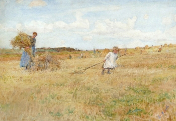 Raking Hay, Lionel Percy Smythe