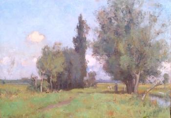 Pastoral Landscape, Sir Ernest Albert Waterlow