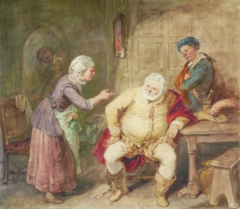 Scene from Shakespeare, John Massey Wright