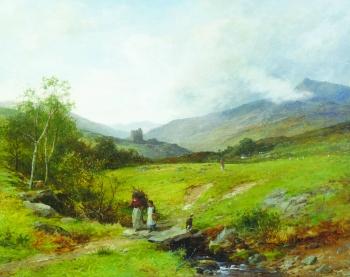 Dolwyddelan Castle, David Bates