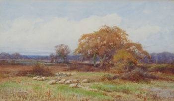 Quietude in Sunshine on Flintwick Moor, Henry John Sylvester Stannard