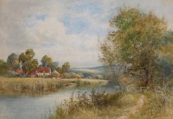 "On the Avon , Francis Joseph ""Wiggs"" Kinnaird"