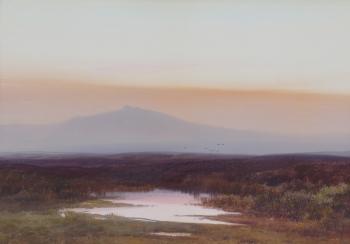 Fur Tor, Sunset, Fredrick J. Widgery