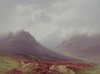 Glen Sligachan, Isle of Skye, Charles Edward Brittan jnr
