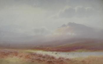 Near Plym Steps, Dartmoor, Charles Edward Brittan jnr