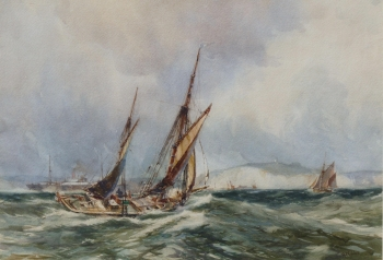 Off Dover, Richard Henry  Nibbs