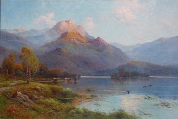 Evening Calm in the West Highlands, Alfred de Breanski
