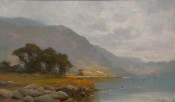 A Scottish Loch, Alfred Fontville De Breanski