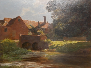 The Mill Stream, James Hayllar