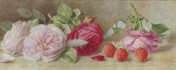 Still Life of Roses, Mary Elizabeth Duffield