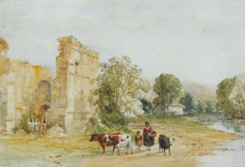 Easby Abbey, William Oliver