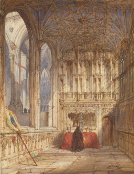 Interior of a Cathedral, Joseph Nash