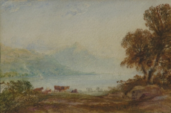 Cattle in a Lakeland Landscape, Anthony van Dyke Copley Fielding