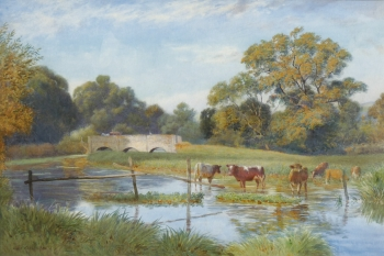 Cattle Watering, Joseph Kirkpatrick