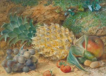 Pineapple & Other Fruit, William B  Hough