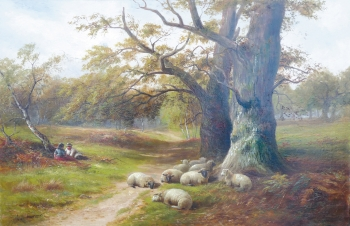 A Distracted Shepherd, George Turner