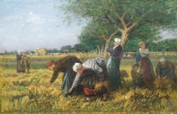 Gleaning, Barbizon School