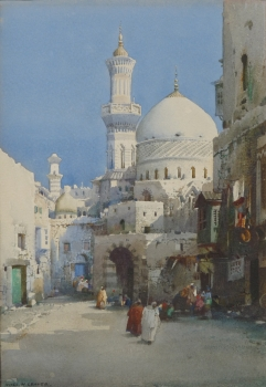 A Mosque at Algiers, Noel Harry Leaver