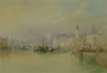 The Pool of London, Richard Henry Wright