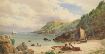 Anstey's Cove, Torquay, Devon, John William Salter