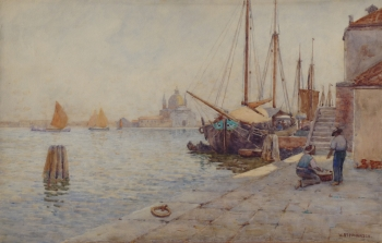 A Venetian Waterfront, Willie Stephenson