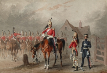 2nd Dragoon Guards, or Queen's Bays, Michael Angelo Hayes