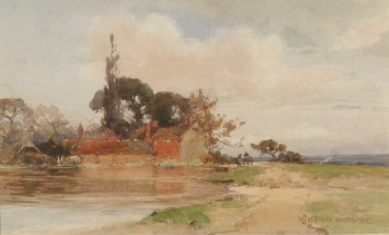 An Old Pond Near Dorchester, Wilfred Williams Ball