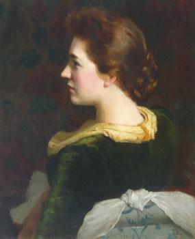 Portrait of Mrs W Cory, Arthur Trevethin  Nowell