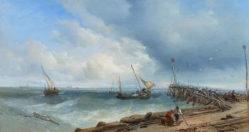 The Pier, Honfleur, James Webb