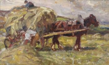 The Haycart, Frederick William  Jackson